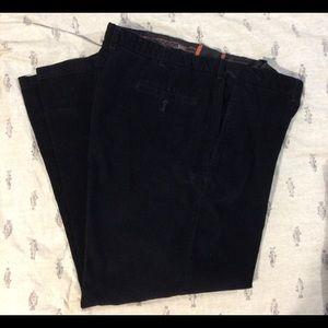Other - Haggar men's size W40 L30 black corduroy pants